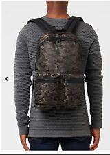 TOPMAN Mens Boys  Premium Camo Rucksack Backpack Bag NEW!