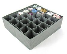 Periea 30 slots Storage box wardrobe organiser drawer organiser socks ties
