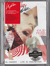 KYLIE FEVER DVD MUSIC CONCERT LIVE IN MANCHESTER 2002