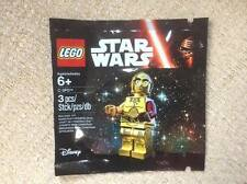 RARE Lego Star Wars: The Force Awakens Minifigure. C-3PO with Red Arm - 5002948