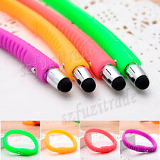 1x Capacitive Stylus Pen Wristband For iPhone 5s 6/Plus iPad Air 4 HTC Samsug