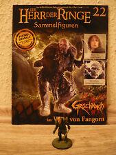 Herr der Ringe-Figur : Grischnakh im Wald von Fangorn (Nr. 22)  mit Heft