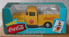 "COCA-COLA DIE CAST METAL BANK ""1956 YELLOW FORD PICK-UP TRUCK"" 1997, NRFB!"