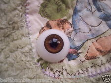 ~EyEcO EyEs PoLyGLaSs Eyes DeEp SaBLe 22MM ~ REBORN DOLL SUPPLIES