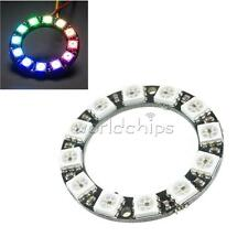 12 Bit RGB LED Ring WS2812 5050 RGB LED + Integrated Driver Module For Arduino
