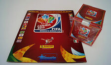 Panini Womens World Cup Canada 2015 - empty album + box 50 packets new sealed