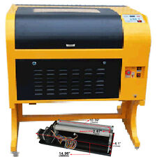 CO2 Laser Engraving Cutting Machine  60W Laser Tube  And Rotary Attachment Simpl