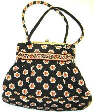 Vera Bradley PIROUETTE Purse Handbag Shoulder Bag W/ Kisslock Snap Closure USED
