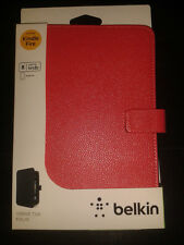 BELKIN RED Protective Tablet Sleeve Case NEW iPad Mini  Kindle Fire  Galaxy Tab