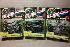 GI Joe vs Cobra Lot Wild Bill Neo Viper Flint Baroness Snake Eyes Storm Shadow