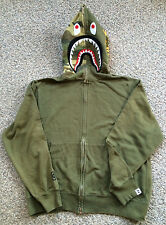 First Edition Bathing Ape Olive Shark - OG Bape 1st Tiger Camo