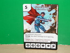 DICE MASTERS DC Basic Action Card - Shockwave (only card)