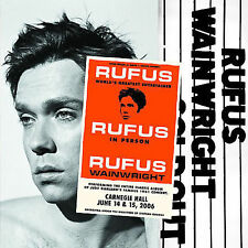Rufus Does Judy at Carnegie Hall by Rufus Wainwright (CD, Dec-2007, 2 Discs,...