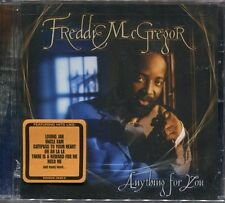 """Freddie McGREGOR """"Anything for you"""" (CD) -NEW / NEUF-"""