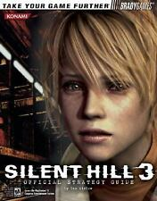 Silent Hill 3 Official Strategy Guide Bradygames Strategy Guides