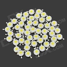 1000 pcs 1W Power LED SMD bead Chips bulb white/blue/red/green/warm white/yellow