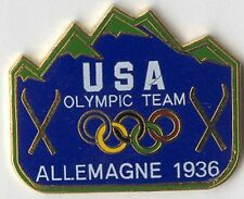 ATLANTA OLYMPIC PIN RENDITION OF USOC TEAM BADGE FROM GERMANY OLYMPICS 1936