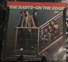 THE BABYS On The Edge 1980 Chrysalis Records CHE1305