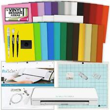 Silhouette CAMEO 3 Machine Vinyl Starter Bundle 25 Sheets Vinyl Paper Tools