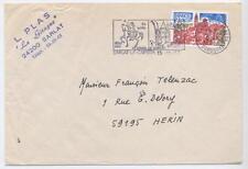France Cover Postal Mechanisation Indexation Wet Marks Lille A3 16-11-1977