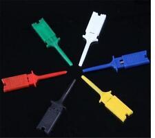 Test Clip Mini Grabber SMD IC Hook Probe Jumper New 10 Pcs