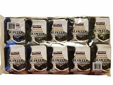 Kirkland Signature Roasted Seasoned Seaweed 10 Packs