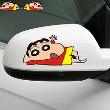 A Pair of Fun &cute car decal/ sticker of Crayon Shin-chan for side mirrors