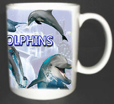 I LOVE DOLPHINS COFFEE MUG LIMITED EDITION XMAS GIFT
