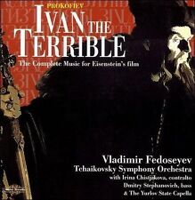 Ivan the Terrible (Tchaikovsky So, Fedoseyev) CD NEW