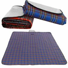 Blue Outdoor Camping Waterproof Mat Picnic Blanket Rug size 180*150cm