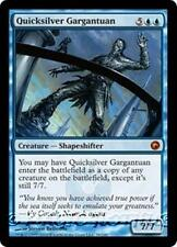 QUICKSILVER GARGANTUAN Scars of Mirrodin MTG Blue Creature — Shapeshifter MYTHIC