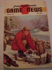 Pennsylvania Game News - March 1963 - Ned Smith Cover
