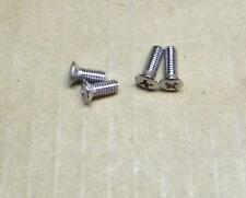 1968 TRIUMPH 500 650 GAS TANK BADGE SCREWS SET OF 4