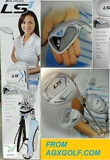 PETITE LADIES ORLIMAR LS1 COMPLETE GOLF CLUB SET BAG+DRIVER+3WD+HY+IRONS+PUTTER