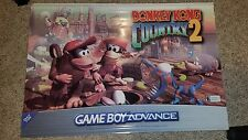 Donkey Kong Country 2 Promo Banner - Official Nintendo Display SNES Dixie Store
