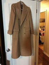 Vintage JG HOOK  100% WOOL Brown WOMENS COAT Lined Medium Made In USA