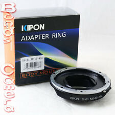 Kipon shift Mamiya 645 M645 lens to Nikon F mount Adapter D4 Df D800 D610 D7100