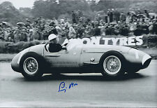 Stirling Moss SIGNED 12x8 Photo AFTAL COA Autograph Private Signing RARE Genuine