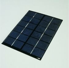 6V 2W Mini Sonnenkollektor für Small Solar System Epoxy Solar Cells 136*110*3mm