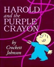 Harold and the Purple Crayon by Crockett Johnson NEW Hardcover, Later Printing