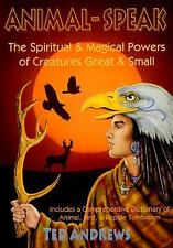 Animal Speak Power of Creatures Great & Small Book ~ Wiccan Pagan Supply