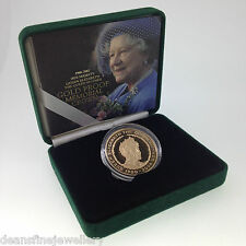 2002 The Queen Mother Gold Proof Memorial Crown £5 Five Pound Coin FDC