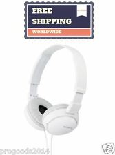 Sony MDR-ZX110  ZX Series Stereo Headphones White Brand New & Sealed Genuine
