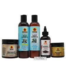 Jamaican Black Castor Oil Set w/ Strong Roots & Hair Food + Protein Conditioner