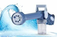 Ez Jet Water Cannon 8 In1 Turbo Water Spray Gun Jet Gun Water Pressure Spray Gun