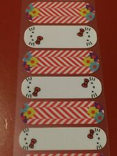 Jamberry Half Sheet - Floral Hello Kitty NAS