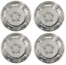 "Mercedes Sprinter 15"" Chrome Deep Dish Wheel Trims Hub Caps Free NextDayDelivery"
