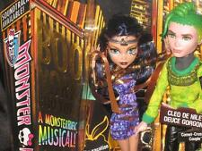 Monster High Boo York Comet-Crossed Couple Cleo de Nile and Deuce Gorgon Dolls