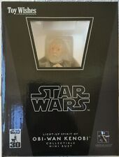 Gentle Giant Star Wars Light-Up Spirit Of Ben Obi-Wan Kenobi Mini Bust MIB