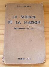 La Science de la Maison - LIVRAISON GRATUITE - Organisation du foyer